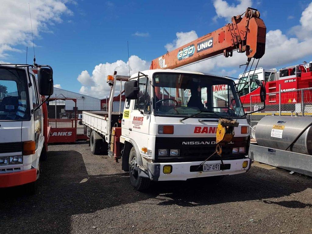 Nissan Crane Truck