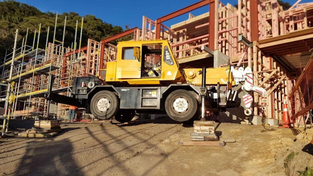 Tadano TR80 8 Tonne Mobile Crane